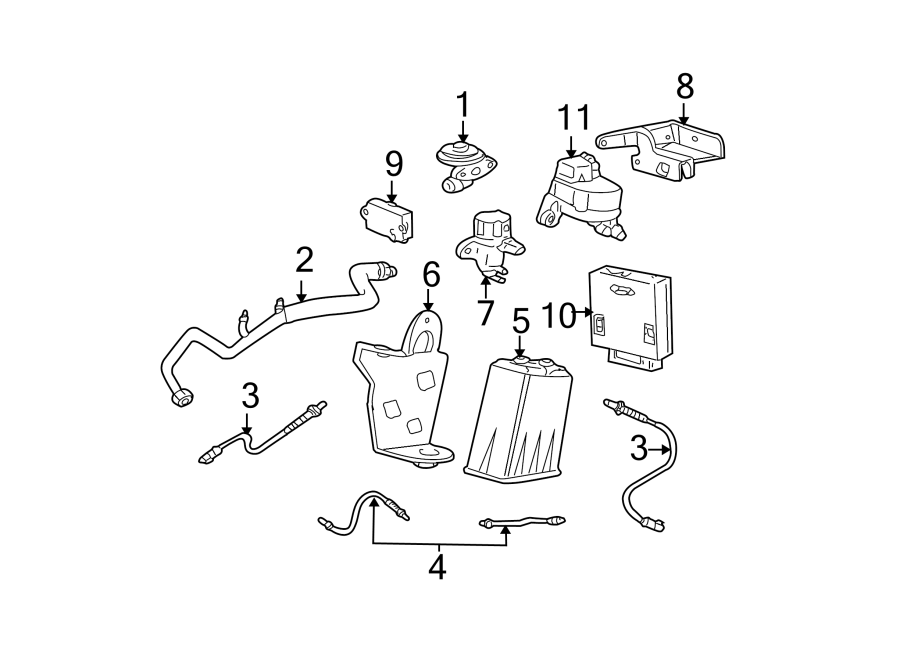 Ford Mustang Egr valve. Emission, liter, repair ...