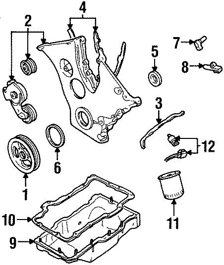 Ford Contour Engine Camshaft Position Sensor