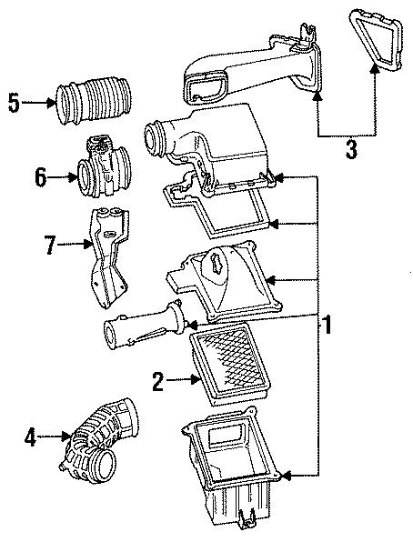 ford taurus air filter