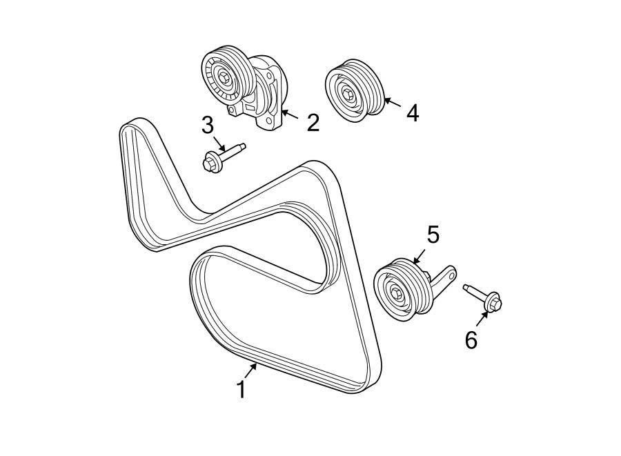 Ford Fusion Serpentine Belt