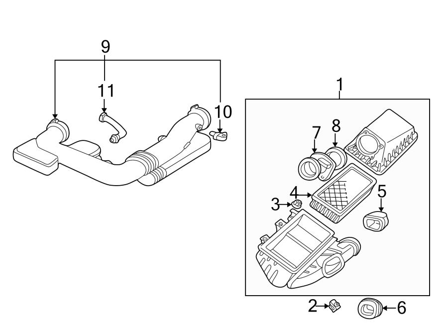 Ford Thunderbird Air Charge Temperature Sensor  Liter