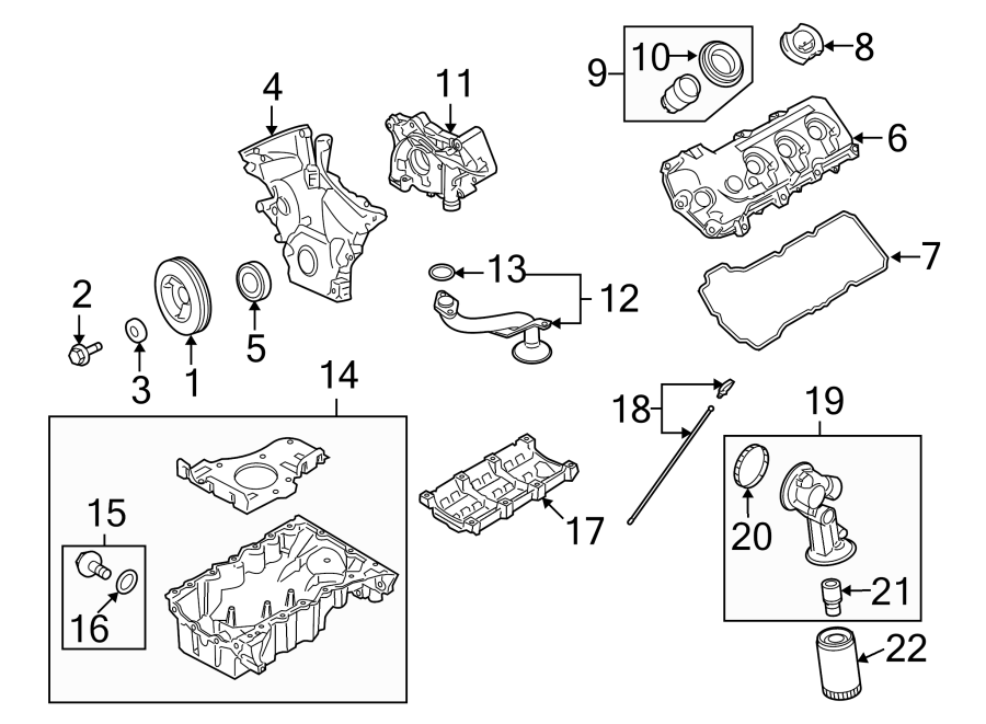 Lincoln Mkx Engine Intake Manifold  Upper  Liter
