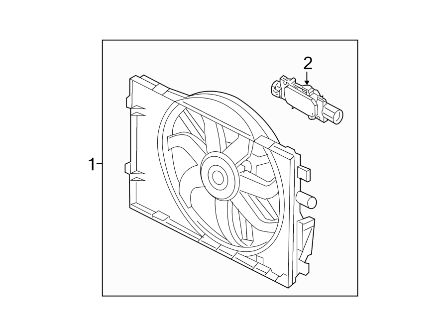 Lincoln Mkz Engine Cooling Fan Motor Relay