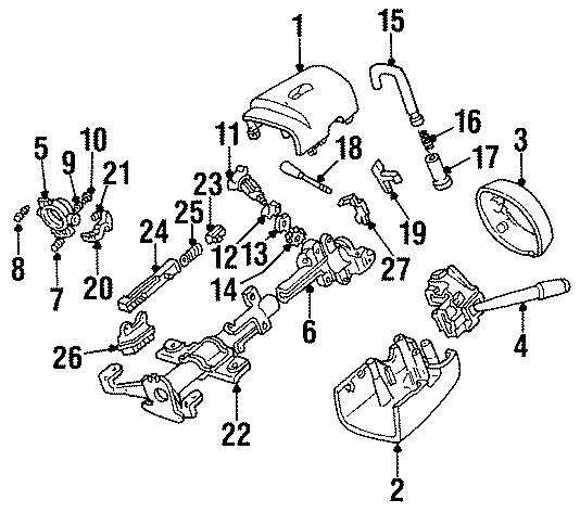 Mercury Cougar Retainer  Cylinder  Lock  Ignition