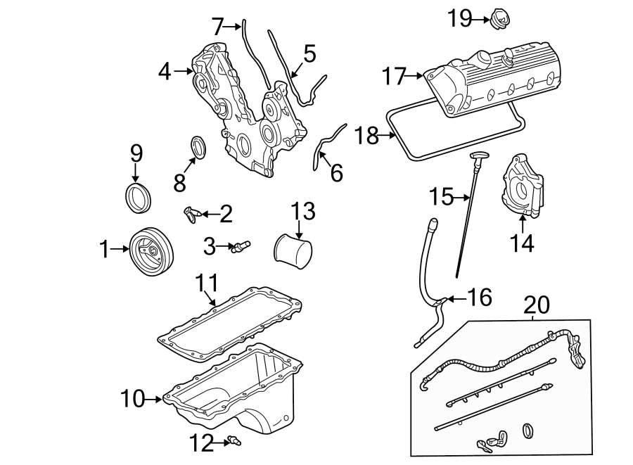 Diagram  95 Ford F 150 4 9 Engine Diagram