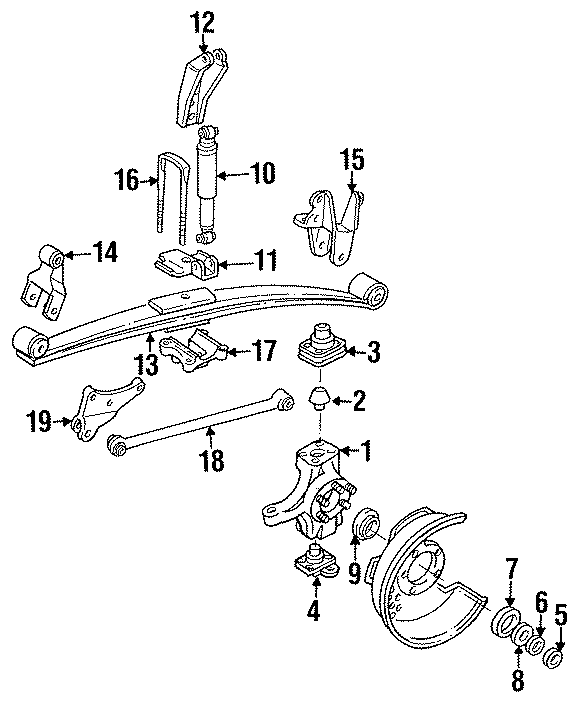 Ford F-350 Bar Assembly