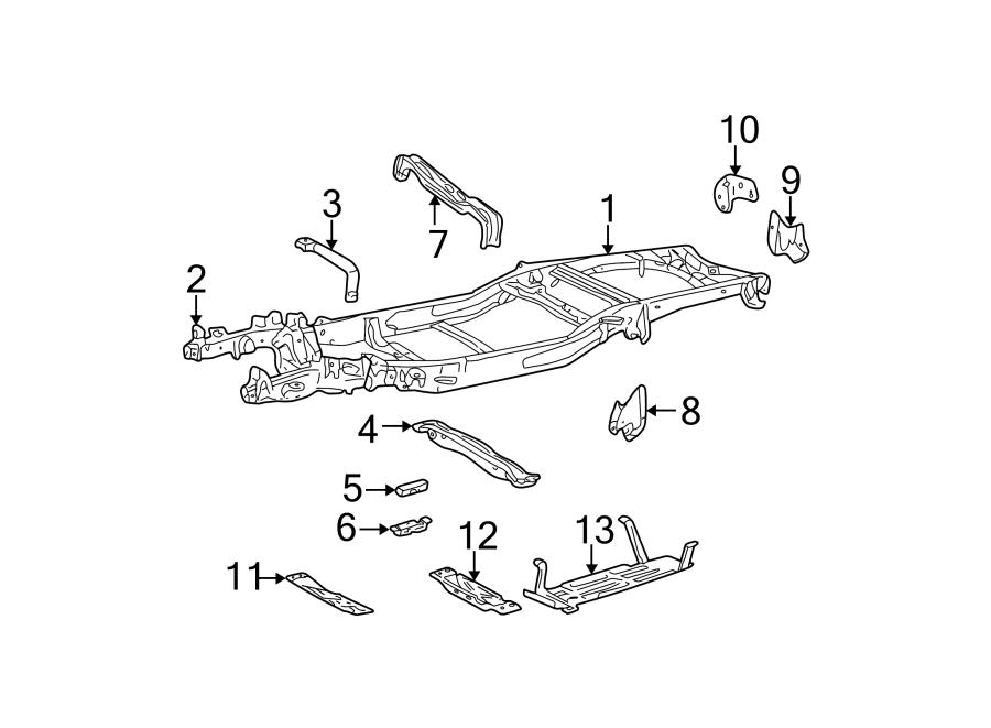 Ford F-150 Bracket - spring - front. Mount bracket. Rear ...
