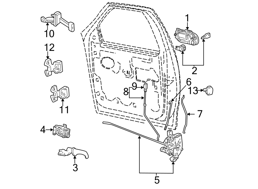 Ford Expedition Exterior Door Handle