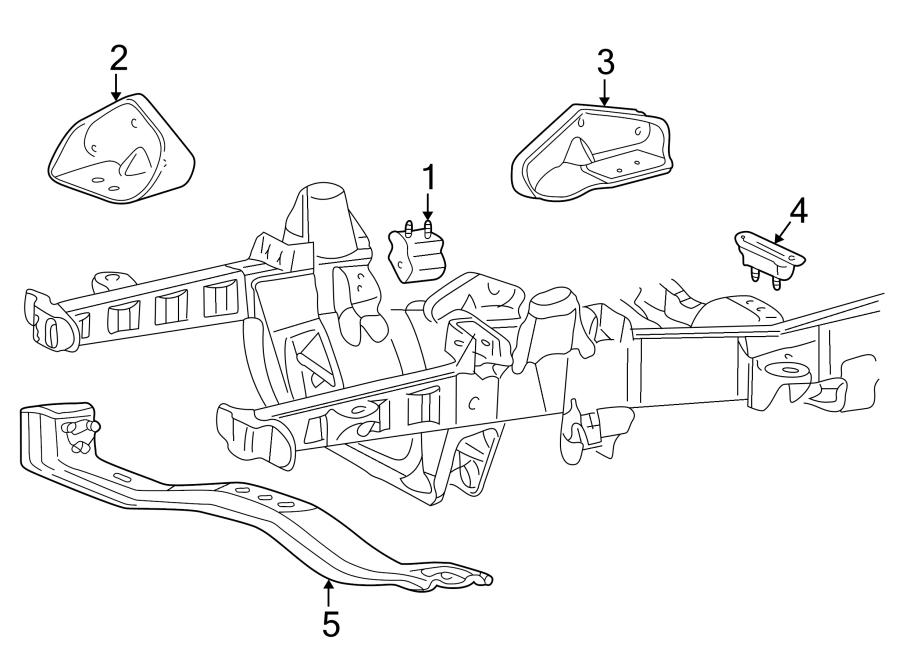 Ford Explorer Engine Mount Bracket  4 0 Liter  Over Head Valve  4 0 Liter  Sohc