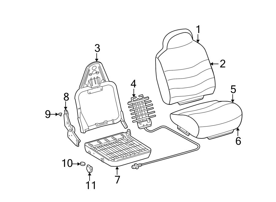 Ford Excursion Seat Back Recliner Adjustment Handle  Bench