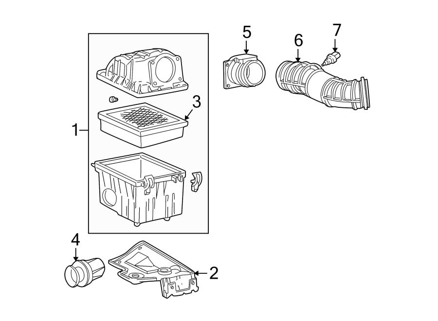 Ford Explorer Sport Mass Air Flow Sensor