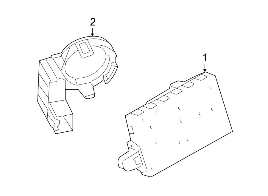 Ford Flex Module  Control  Lock  Alarm  Door  2009
