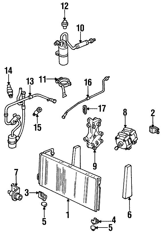 Mercury Lynx Hvac Pressure Switch