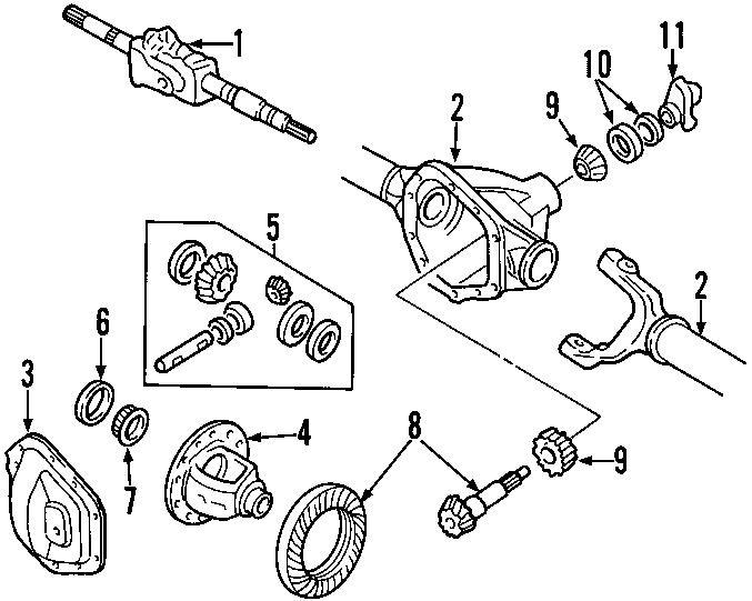 Ford F-250 Super Duty Drive Shaft  Shaft Assembly