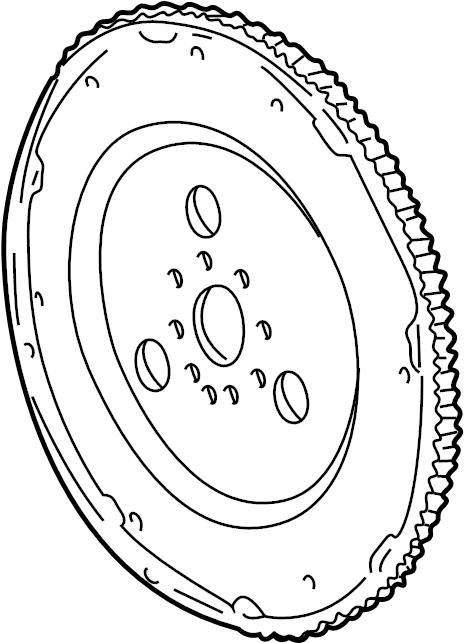 Mercury Sable Automatic Transmission Flexplate  3 0 Liter