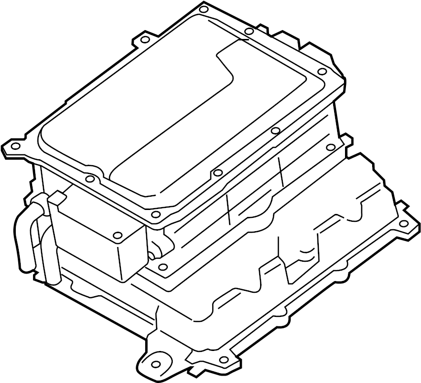 Ford Fusion Drive Motor Inverter  Charging  Battery  Trans