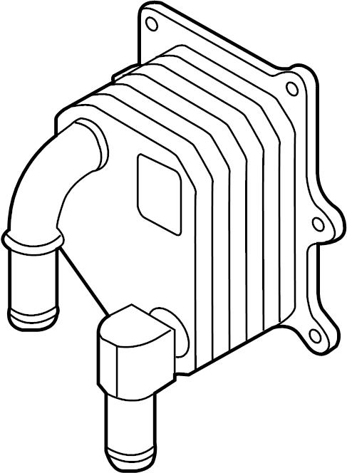 Ford Explorer Engine Oil Cooler  Liter  Interceptor
