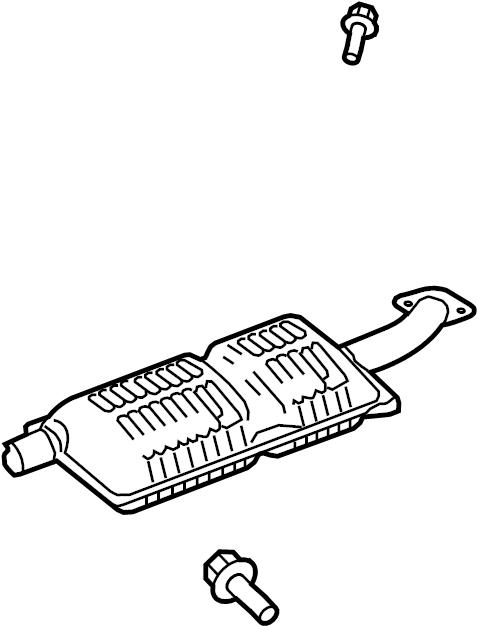 Mercury Grand Marquis Exhaust Muffler